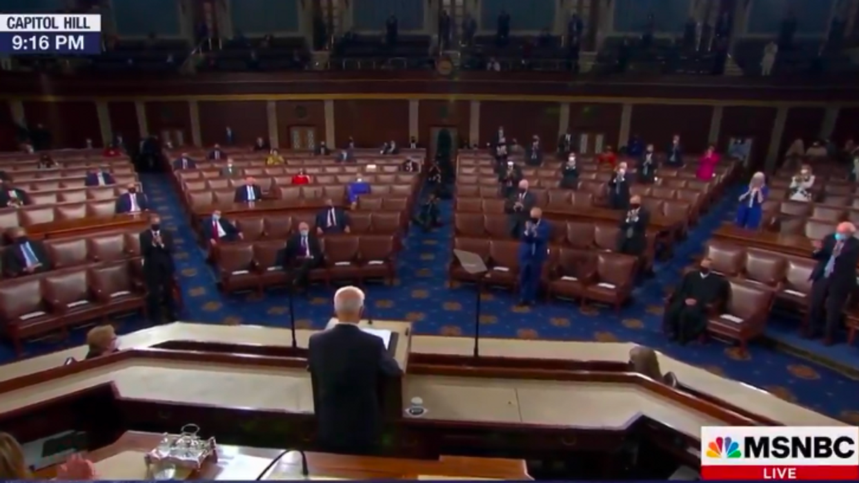 'They don't care': Republicans blasted for refusing to applaud for cutting child poverty in half