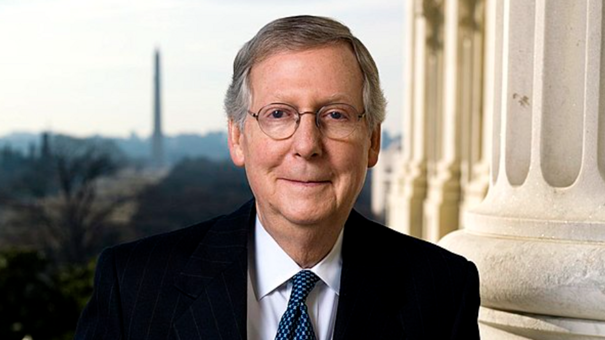 McConnell claimed Democrats are 'addicted to divide and conquer.' Critics offered him a GOP history lesson