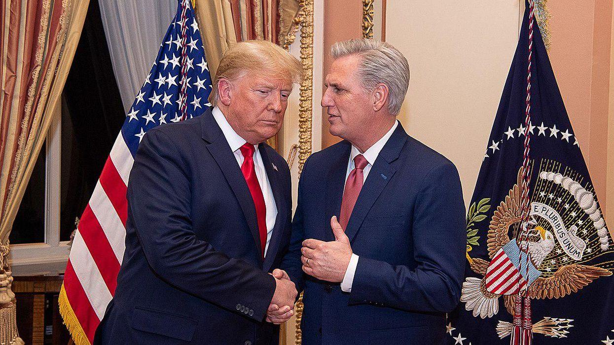 'Deranged lies': Supercut busts GOP leader McCarthy for brazenly flip-flopping on Trump's insurrection
