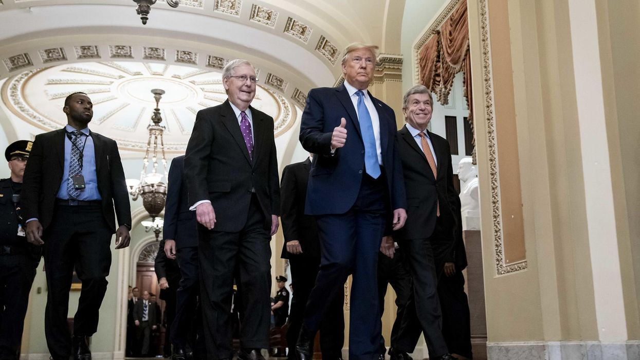How Trump's Republican Party is helping Joe Biden build back better