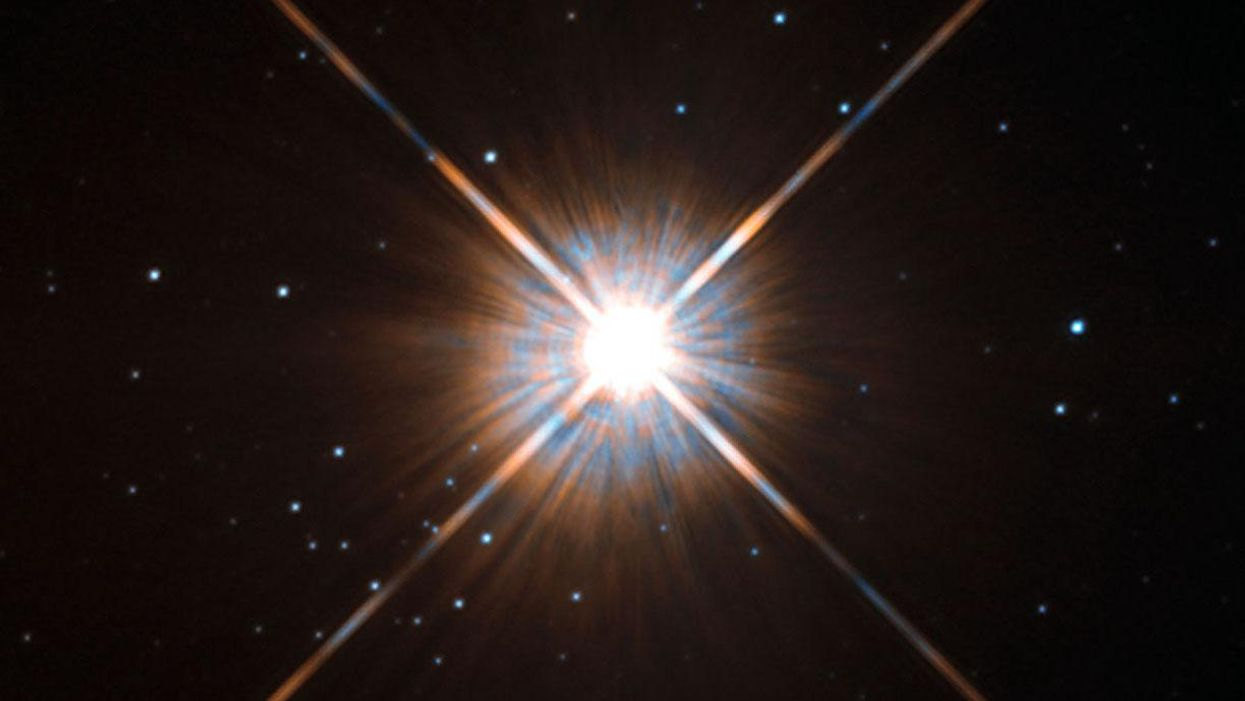 A massive flare erupts at our neighboring star — here's what it means for the chances of alien life