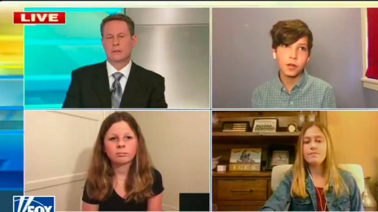 'Fox & Friends' host mocks a 6th grade student for saying Biden is doing a better job than Trump