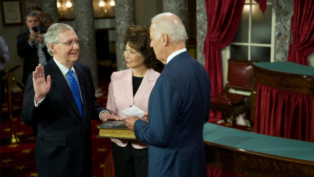 McConnell's comeback to Biden's big plan is simple: Austerity, stagnation or both