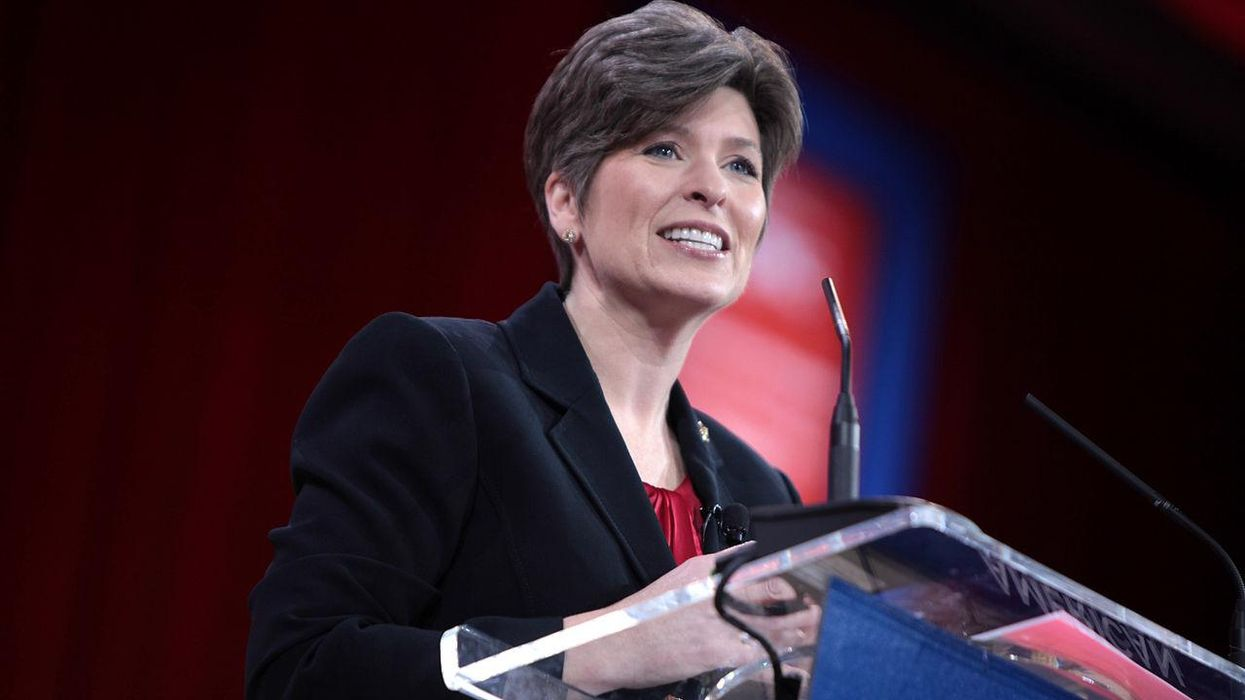 Joni Ernst slams GOP efforts to oust Liz Cheney as the very 'cancel culture' the party rails against