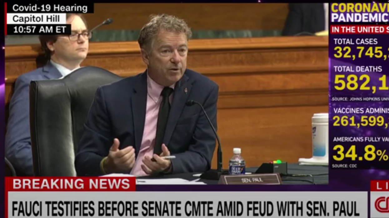 'Entirely and completely incorrect': Fauci shuts down Rand Paul's baseless claim that NIH helped 'juice up' virus