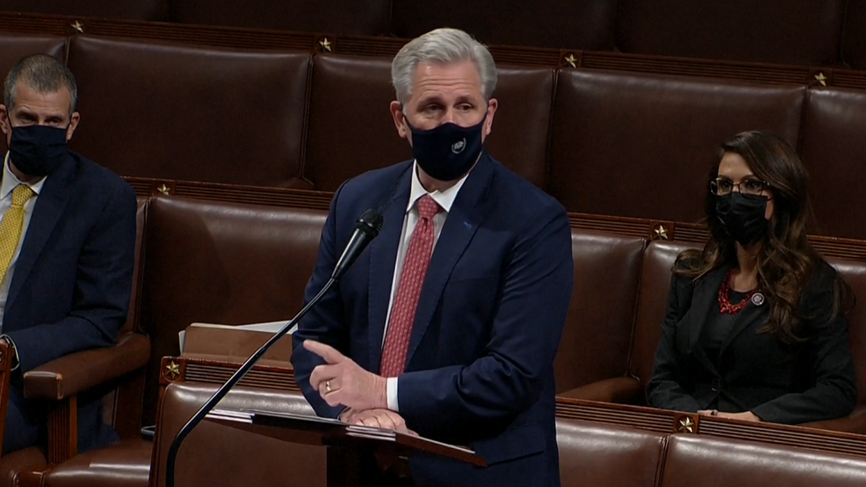House Republican reveals he tried to warn Kevin McCarthy before Jan. 6 riot — and was summarily dismissed