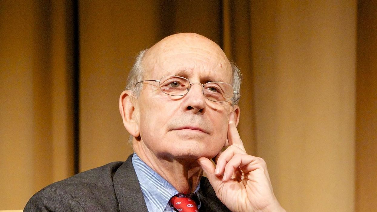 Justice Stephen Breyer risks making a historic blunder