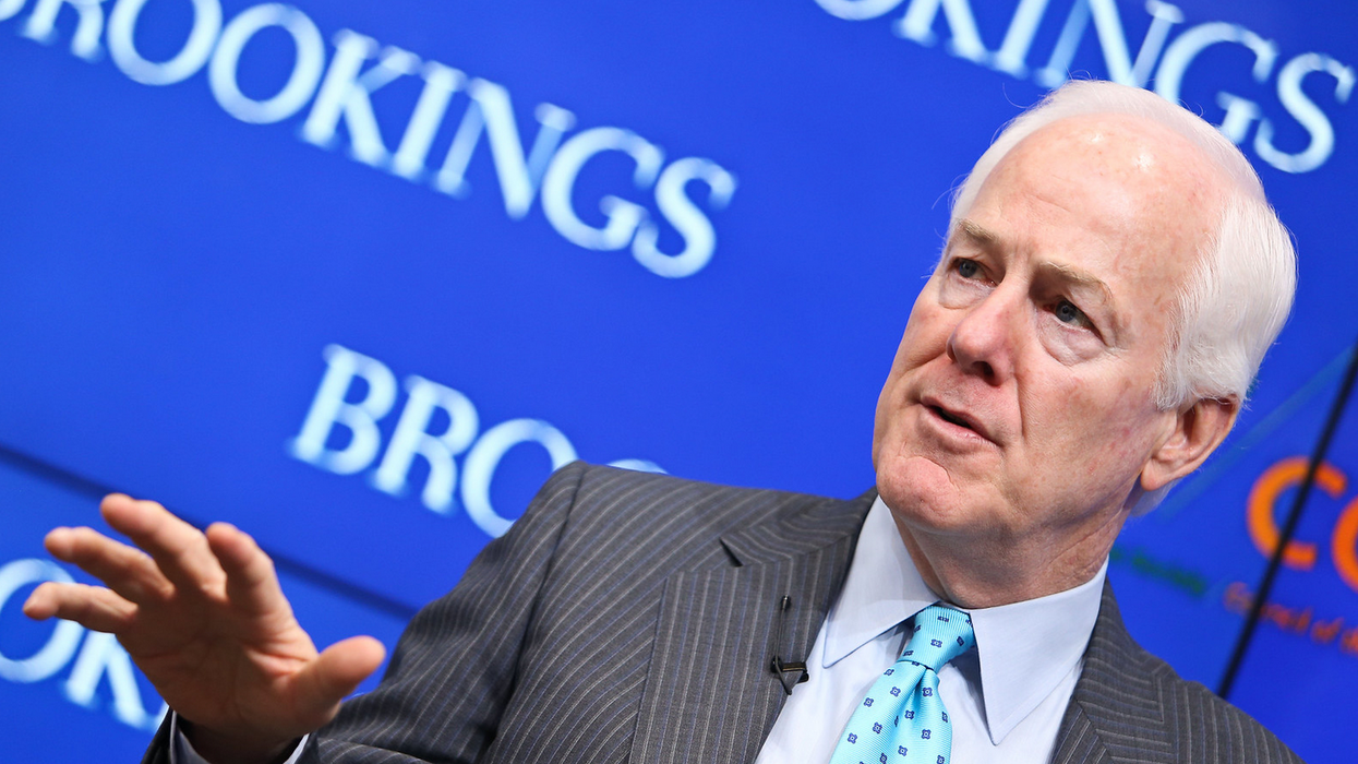 'Gloating about voter supression': Sen. Cornyn promotes WaPo story about GOP plan to seize power via gerrymandering