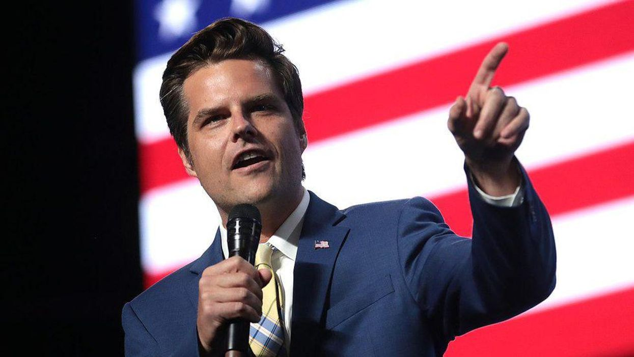 Matt Gaetz's legal woes could open the door for campaign finance violations