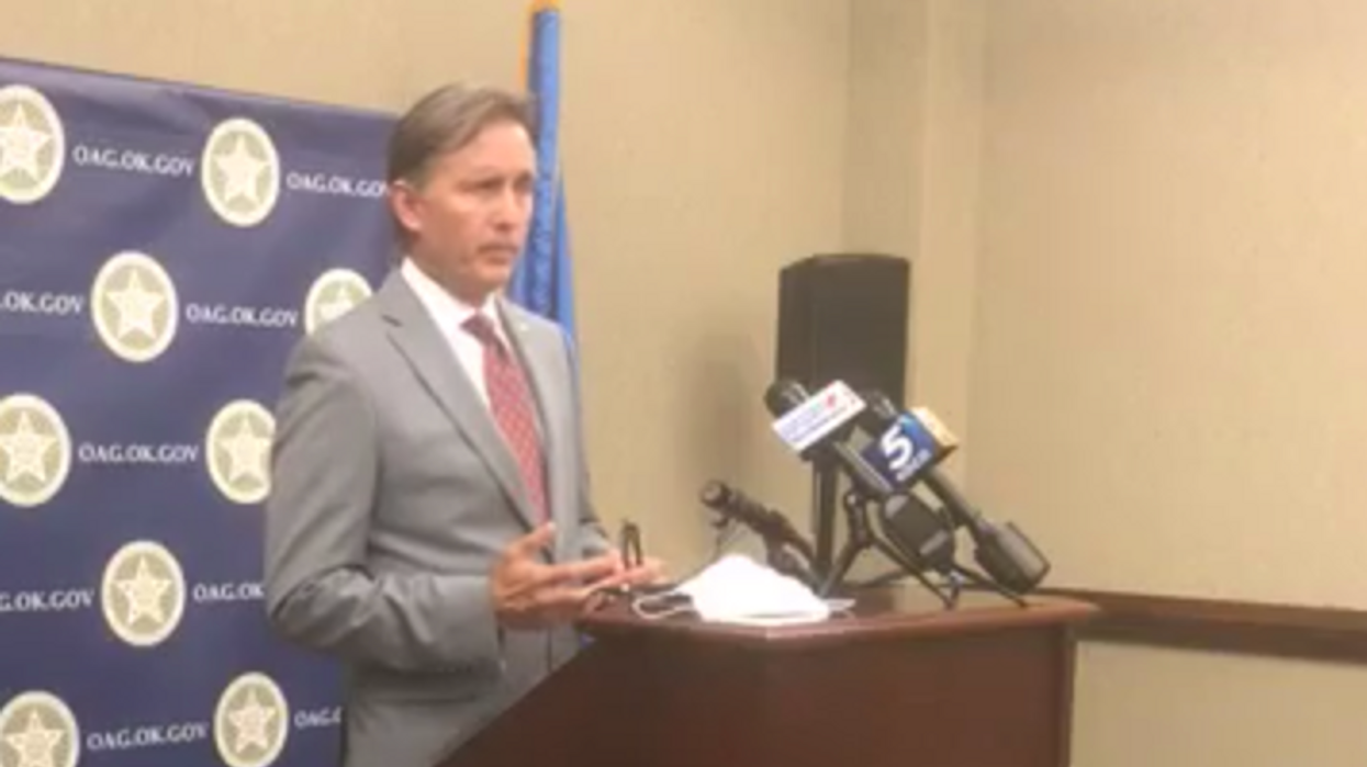 Oklahoma's GOP attorney general abruptly resigns after local newspaper asks him about affair