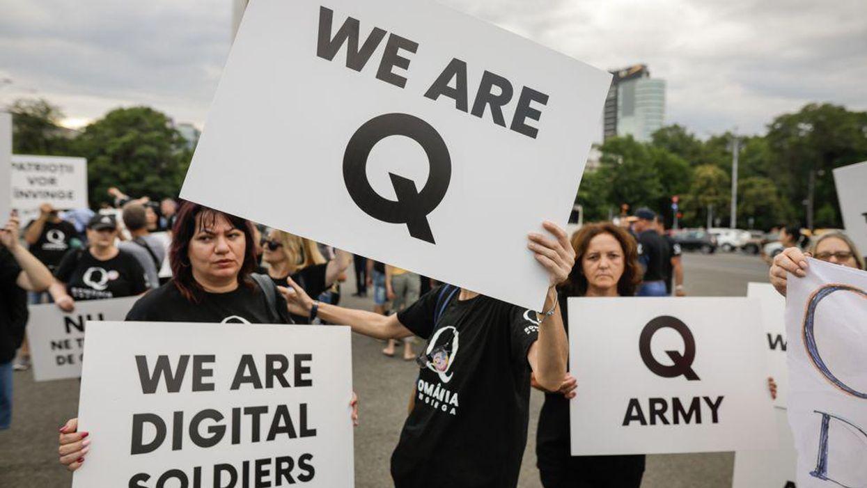 Why QAnon content 'evaporated' online