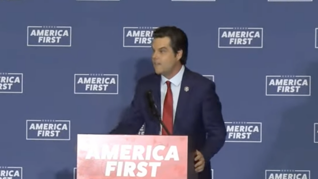 Gaetz gives shocking speech on 'armed rebellion' and the 'obligation' to use the 2nd Amendment