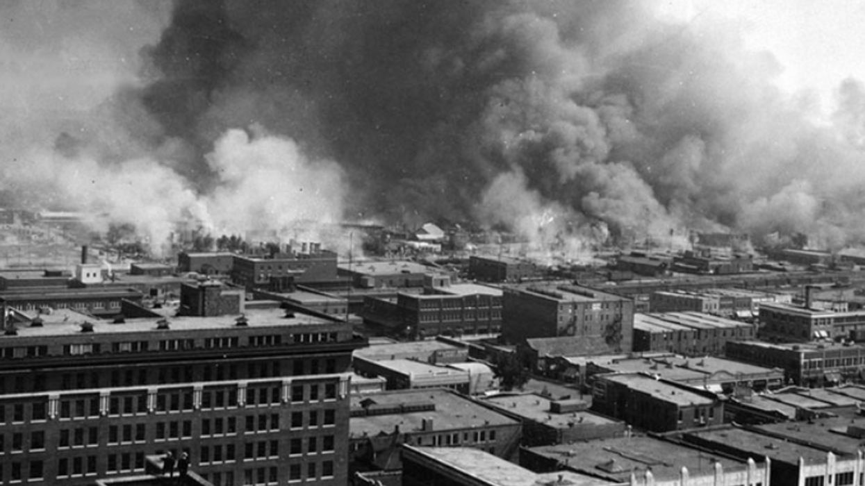US Marks 100th anniversary of Tulsa Race Massacre, when white mob destroyed Black Wall Street