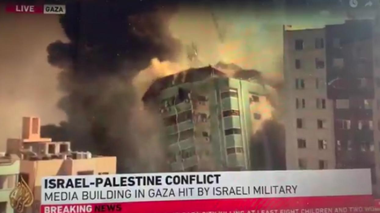 Israeli bombs destroy Gaza media center — AP, Al-Jazeera and others taken out