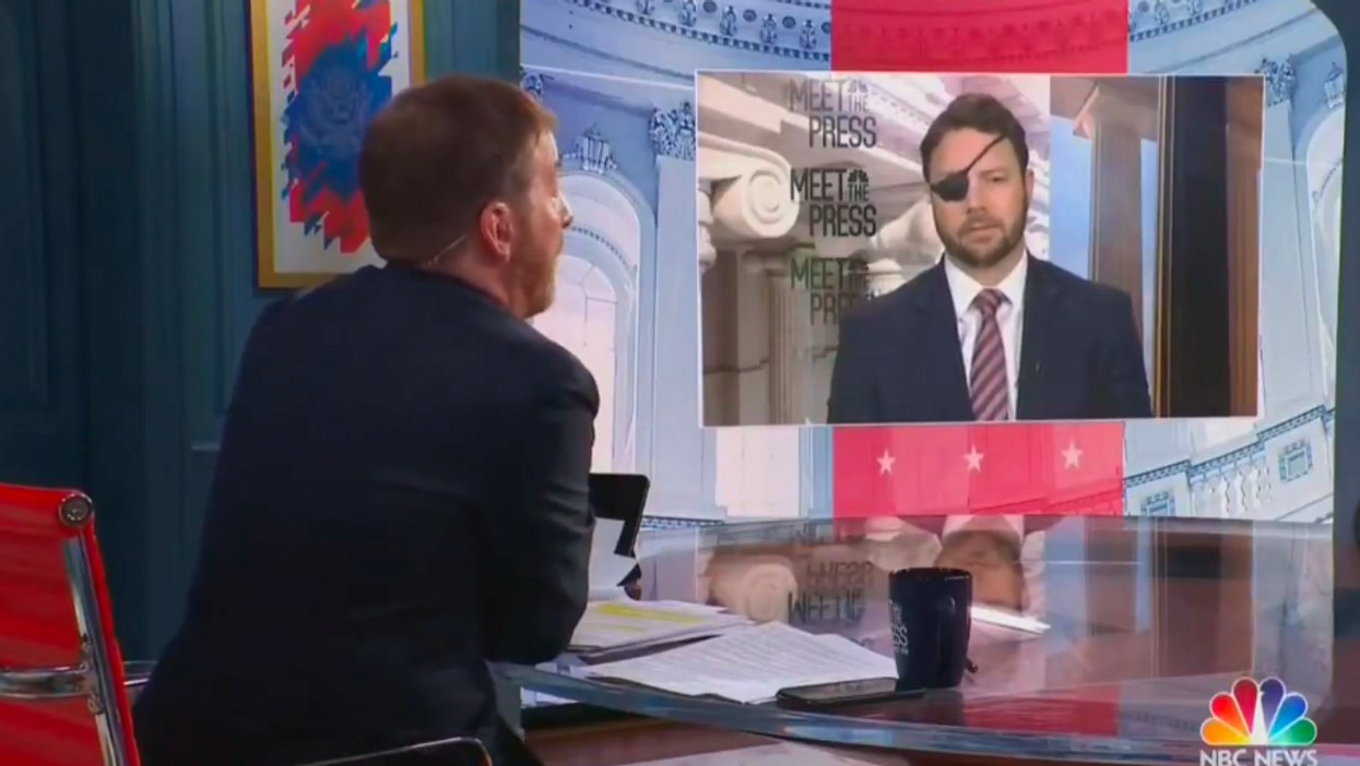 'Why should anybody believe a word you say?' Chuck Todd battles Dan Crenshaw over GOP's slide into Trumpism