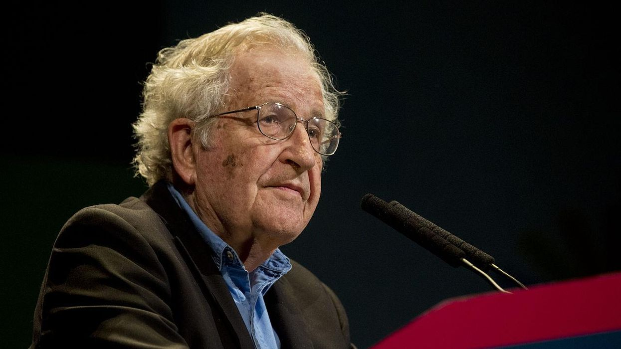 'They've turned into raging monsters': Noam Chomsky links GOP lies to Nazi propaganda
