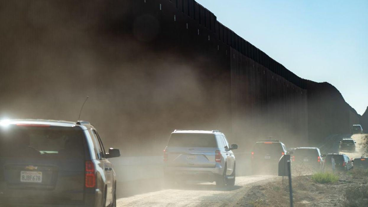 A moment of hesitation and the absurdity of the border
