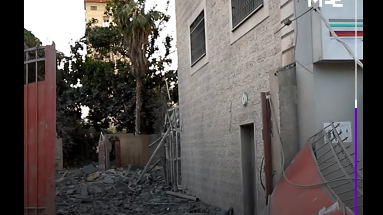 'A heinous crime': Israeli airstrikes damage Gaza's only coronavirus testing lab