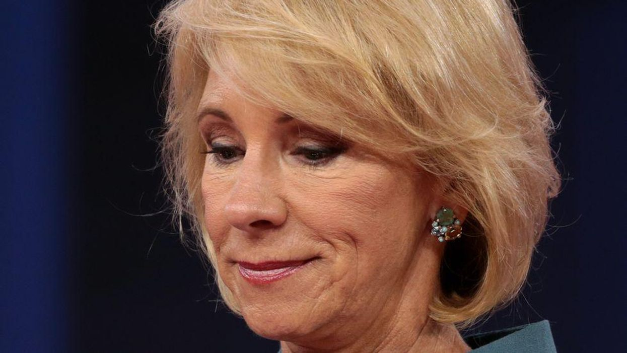 Judge orders Betsy DeVos to testify — citing 'exceptional circumstances'