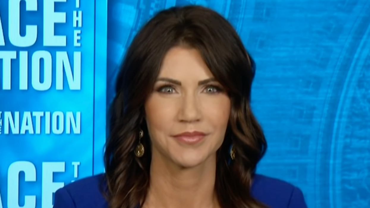 Kristi Noem goes full MAGA with lawsuits against Biden's administration: report