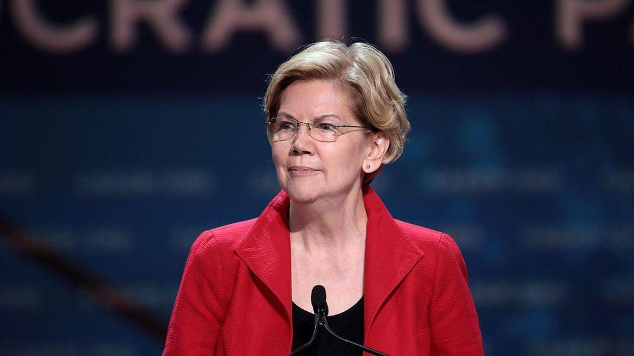 Elizabeth Warren pushes bill to nearly triple IRS budget and 'go after wealthy tax cheats'