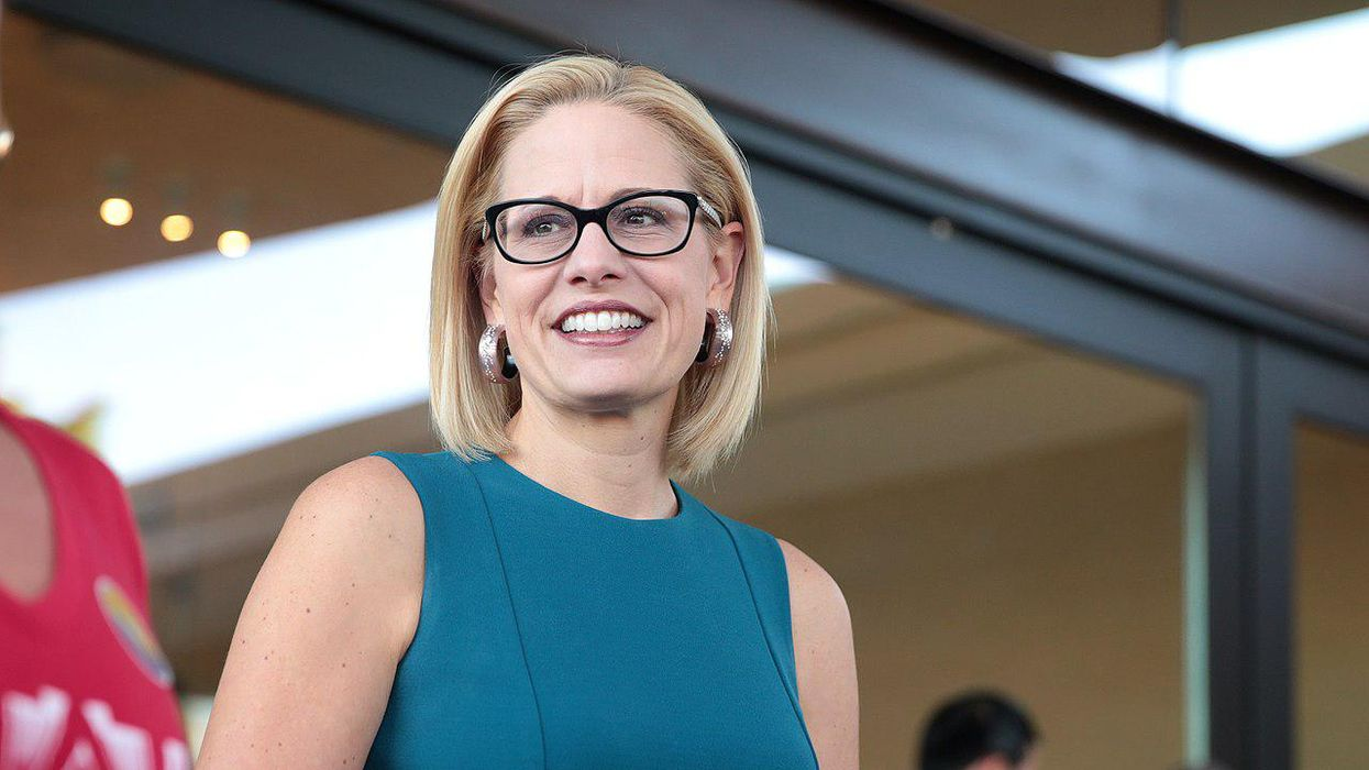 Kyrsten Sinema spokesperson says Arizona senator 'would've voted' for Jan 6 commission — but she skipped vote