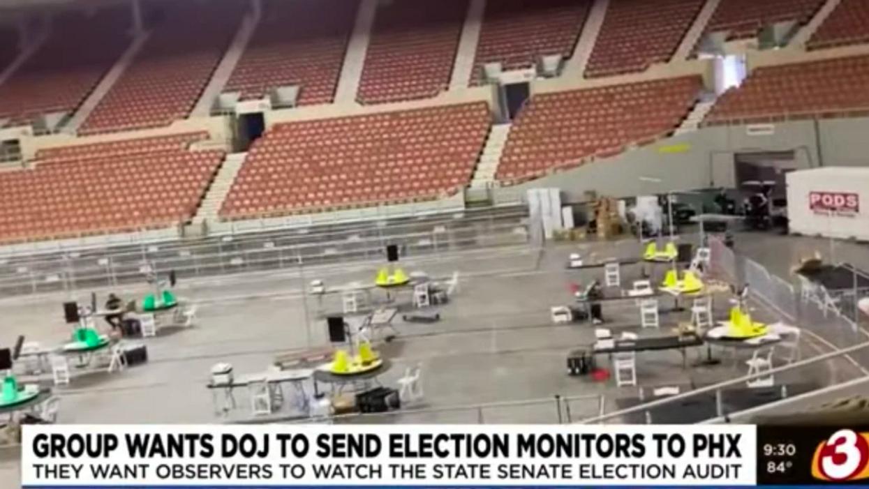 Even right-wing media are slamming Arizona's bizarre 'election audit'