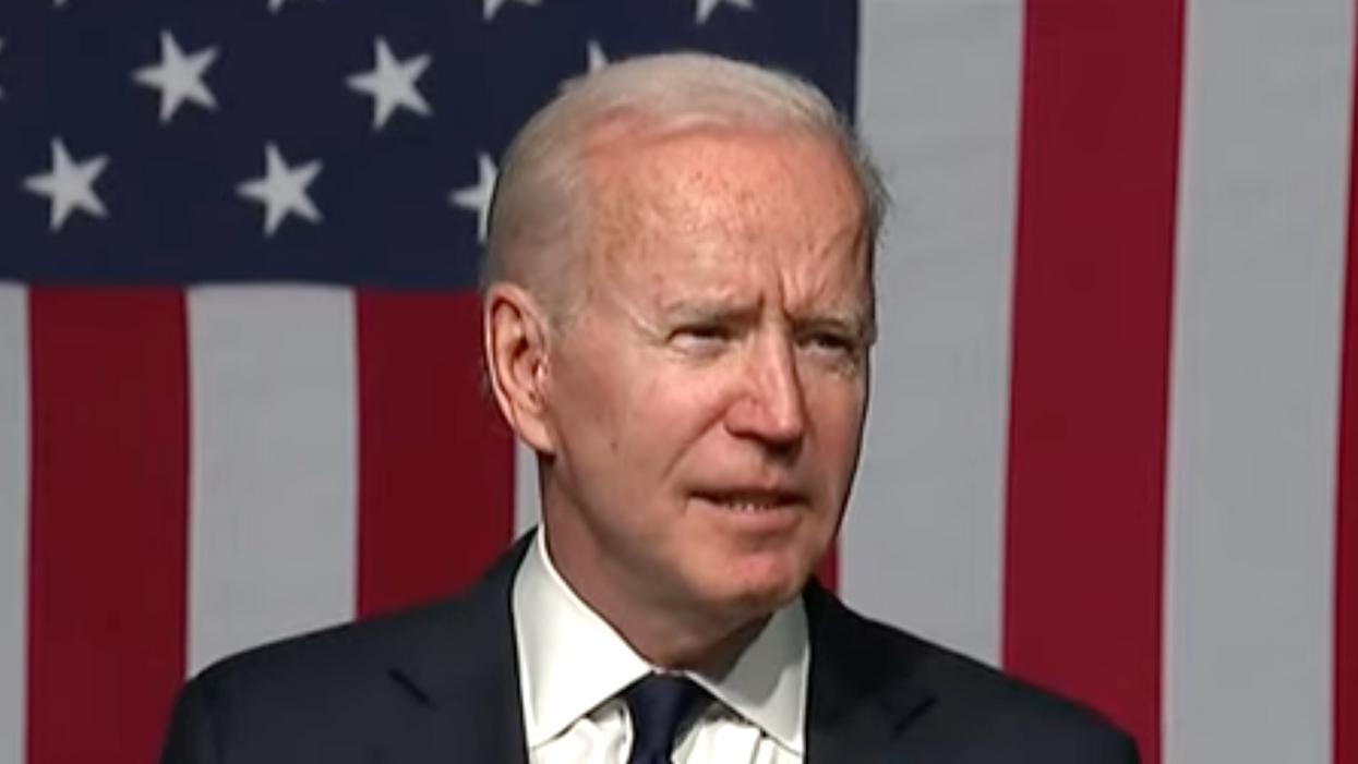 Biden takes a veiled swipe at two Democratic senators