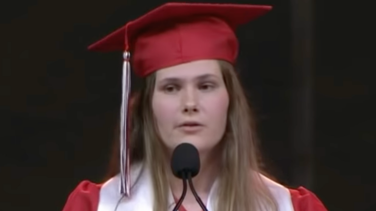 Texas high school valedictorian scraps approved speech — and speaks out on new anti-abortion law