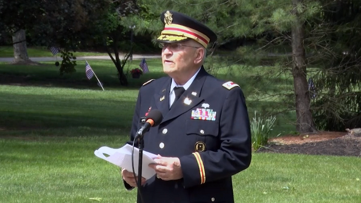 Organizers cut veteran's microphone for speaking about black history at Memorial Day event