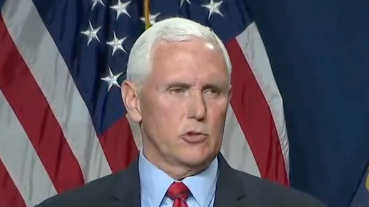 Mike Pence stuns audience by breaking his silence about Trump and the Capitol insurrection