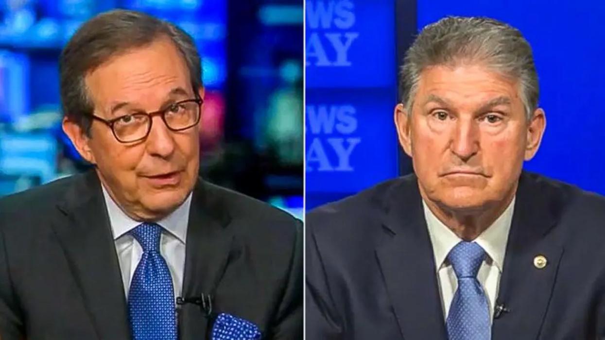 'Aren't you being naive?': Fox News' Chris Wallace shreds Joe Manchin for enabling the GOP
