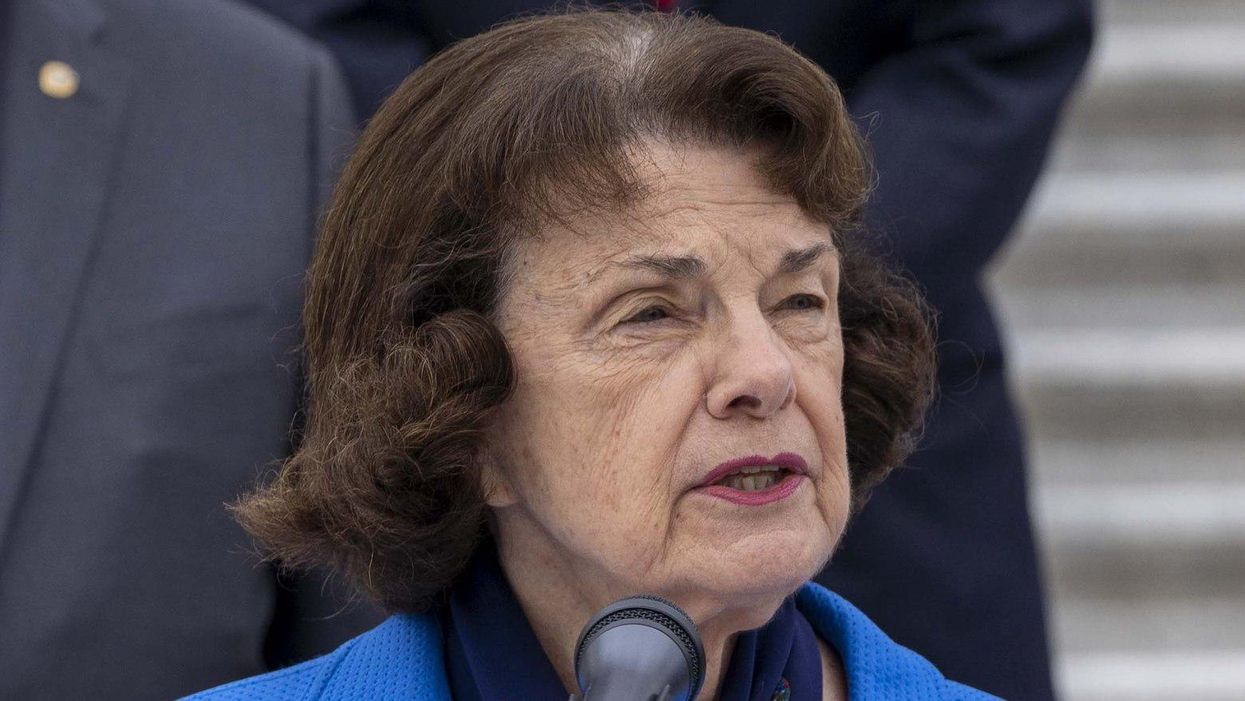 'Completely out of touch': Democrat Dianne Feinstein faces backlash for saying democracy isn't 'in jeopardy'