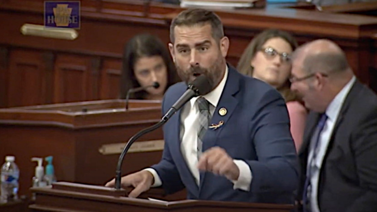 'Your boos mean nothing to me': Democratic lawmaker Brian Sims slams Republicans who cut his mic