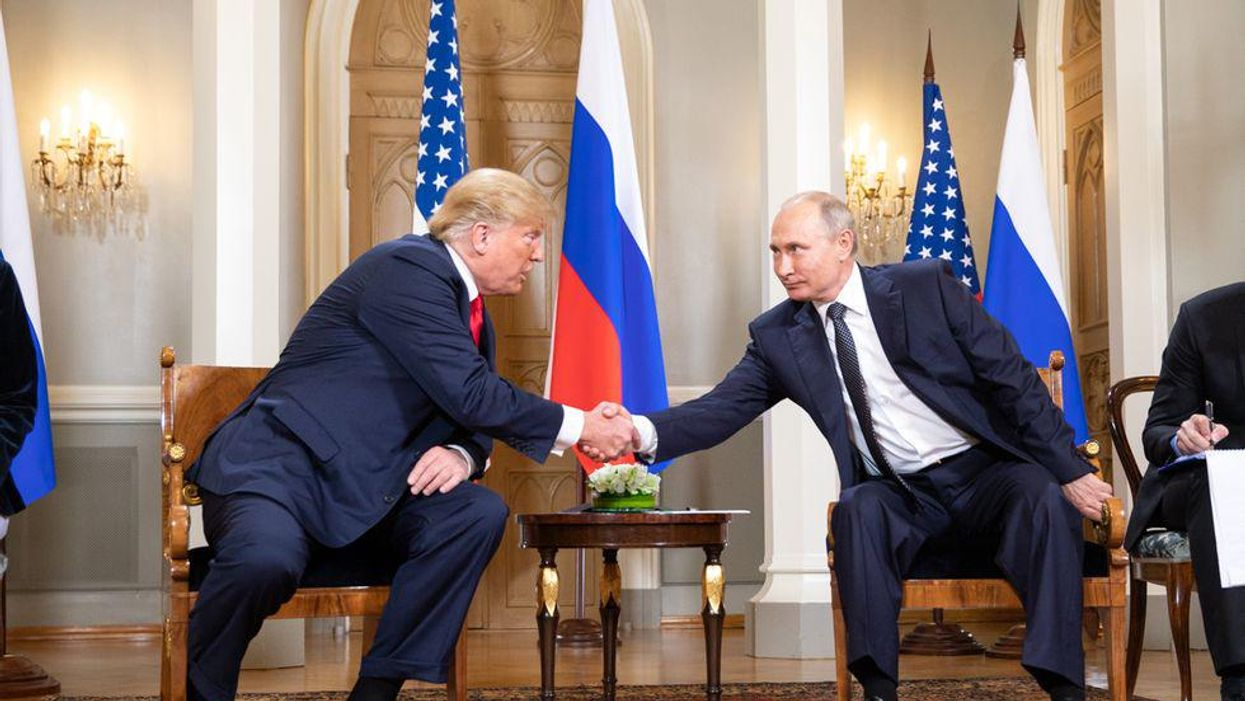 Trump still loves Putin — and says he trusts him more than US intel
