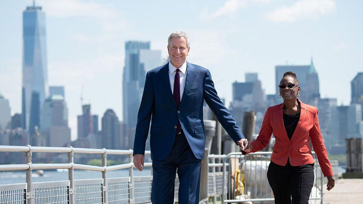 Crime looms large in the race to run the Big Apple