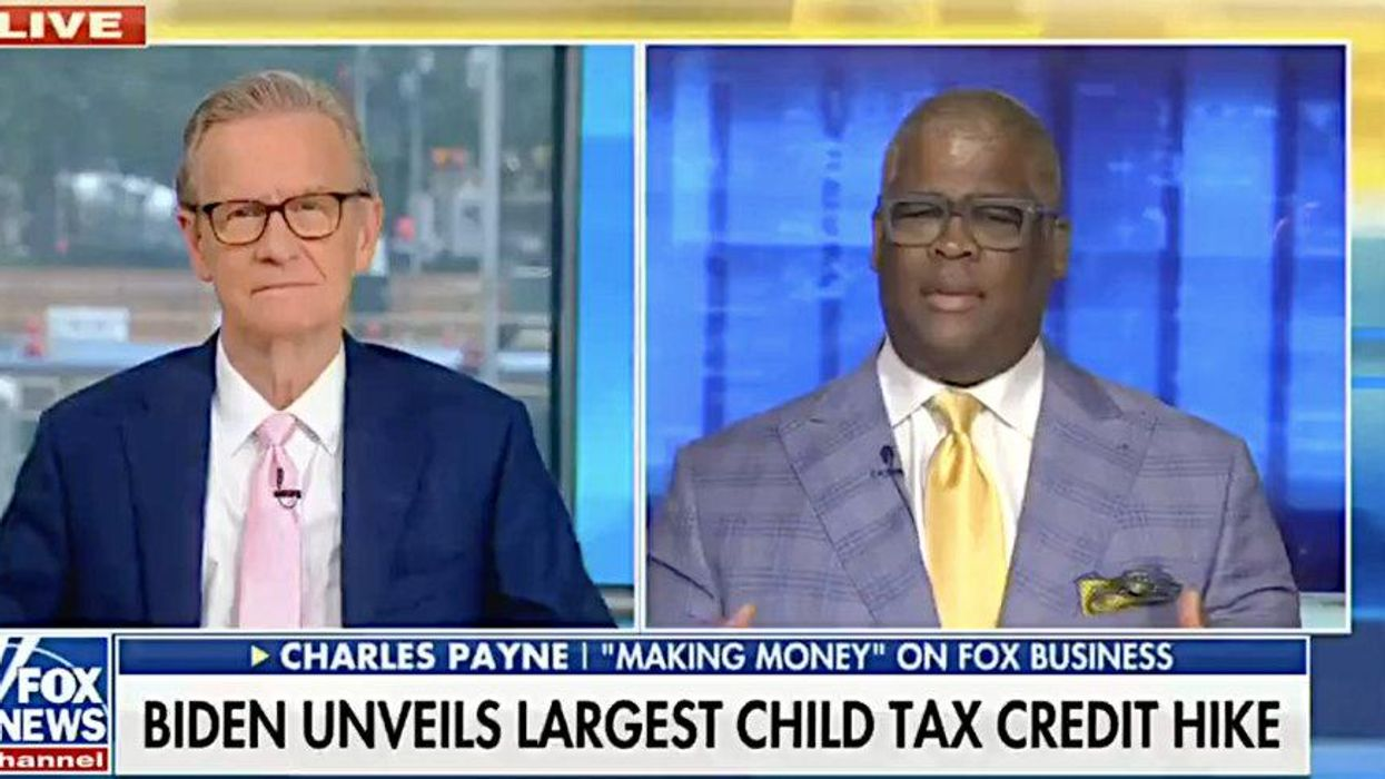 'Insidious and evil': Fox News host goes off on crazed rant attacking Biden child tax credit 'hike'