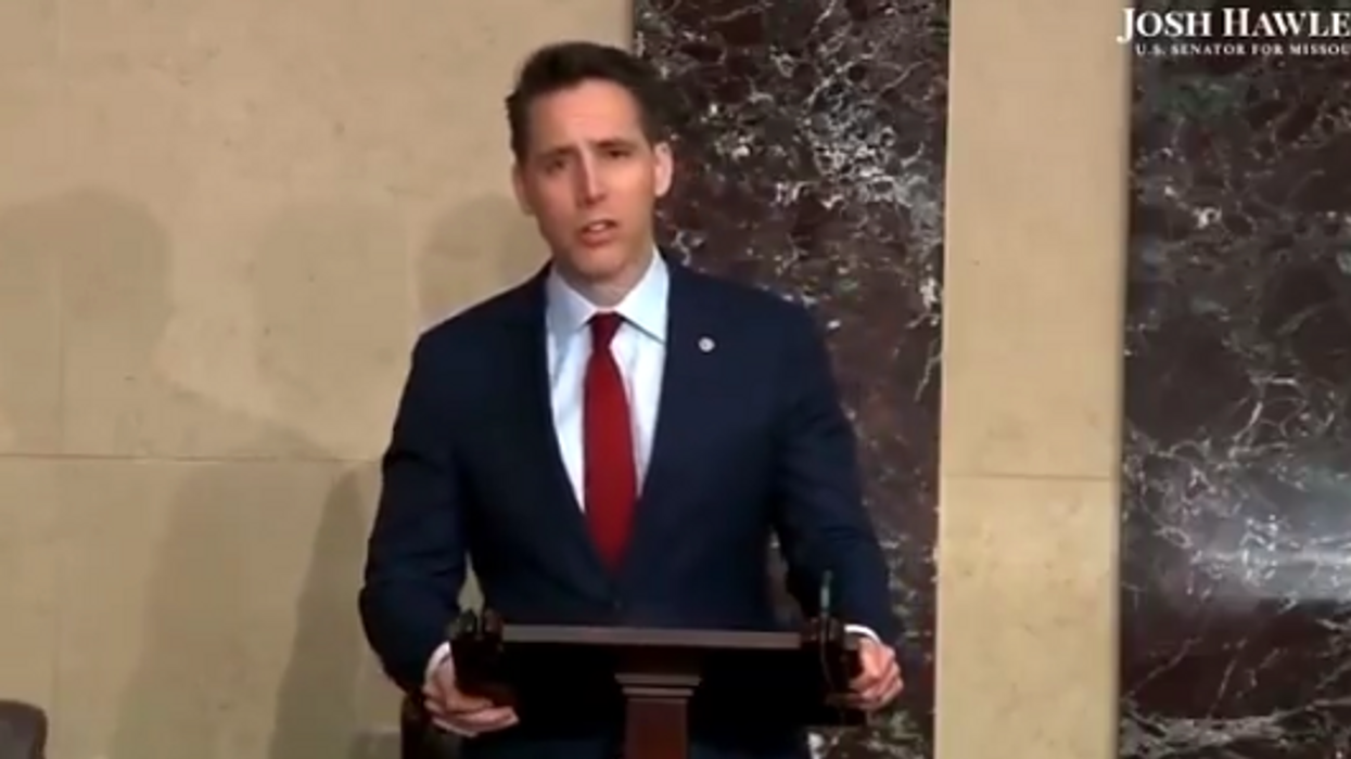 Josh Hawley invoked MLK to grandstand against 'critical race theory.' It did not go well