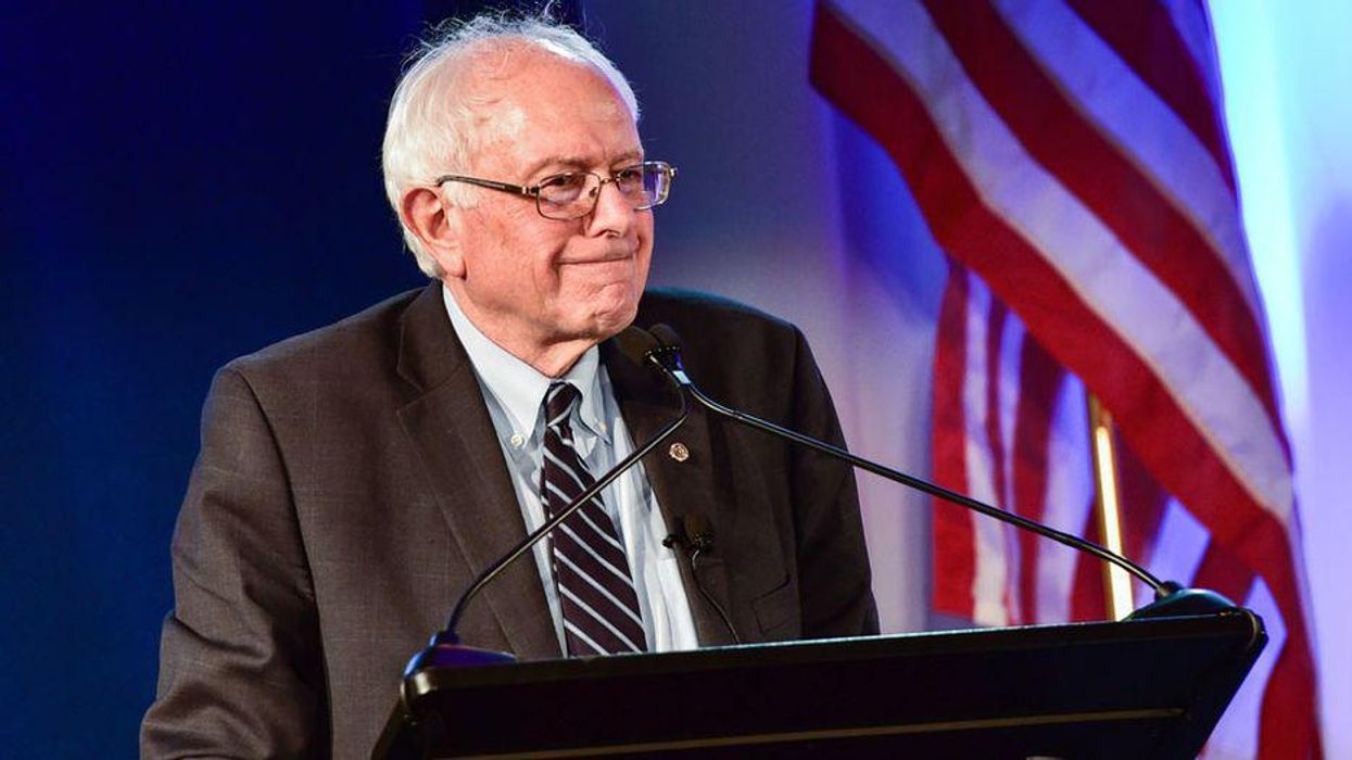 Sanders rips GOP for remaining 'loyal to the Big Lie'