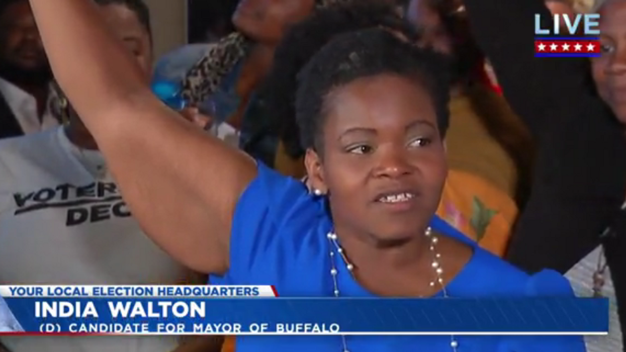 Socialist stuns with upsetting defeat of 4-term Buffalo mayor