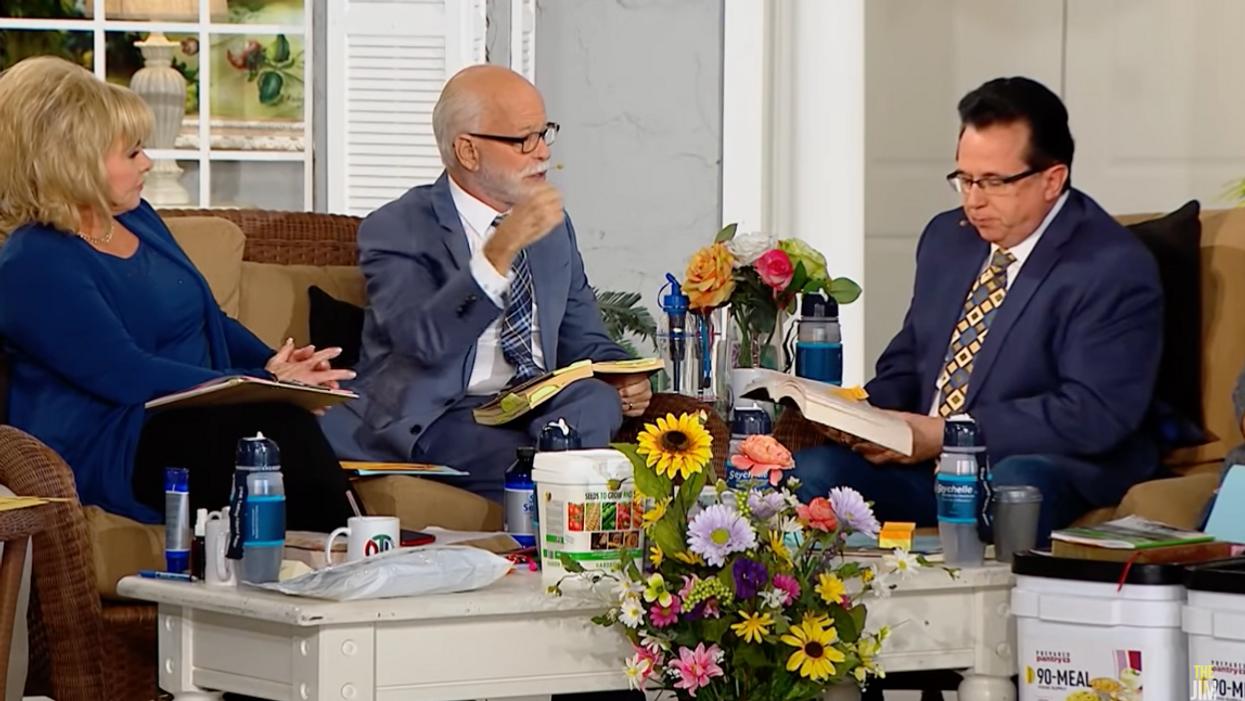 Disgraced televangelist Jim Bakker says America has 'slidden' backwards under Biden