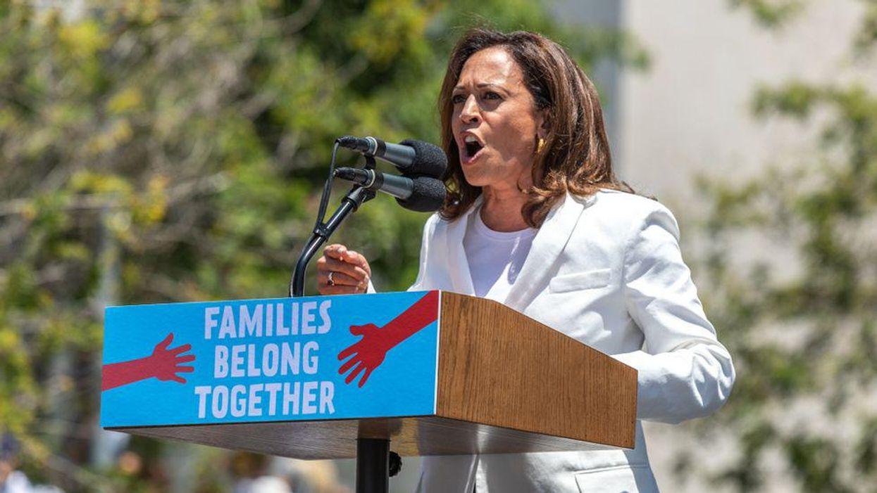 GOPers fake outrage over Kamala Harris visiting the border after demanding she visit the border