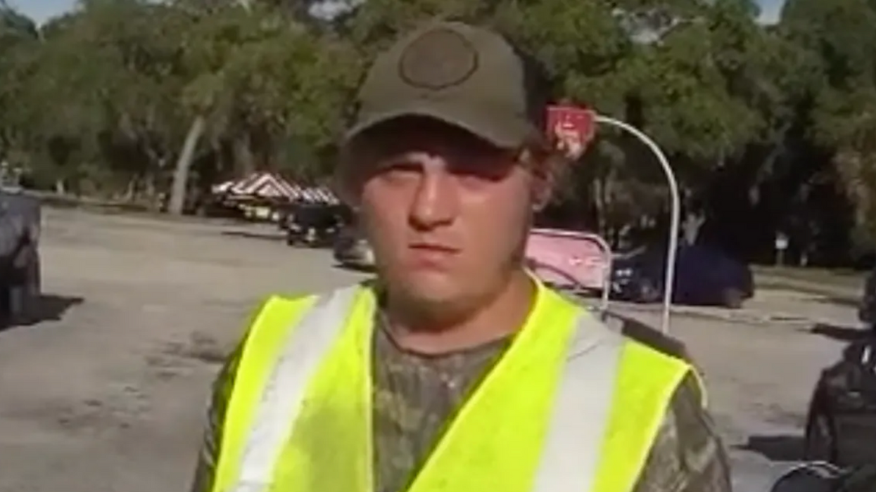 WATCH: Arrested Florida man accused of threatening a Black family at gunpoint — just because of their race