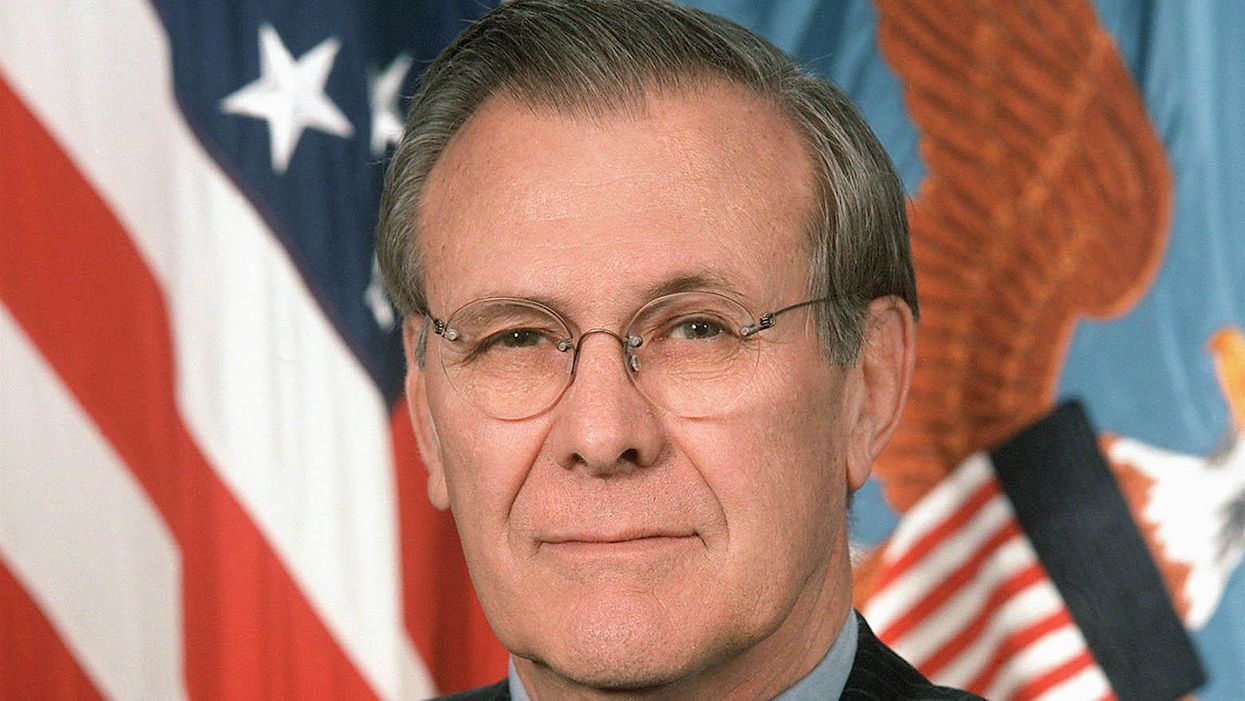 History's worst secretary of defense: Rumsfeld's death leaves behind a legacy of arrogance and violence