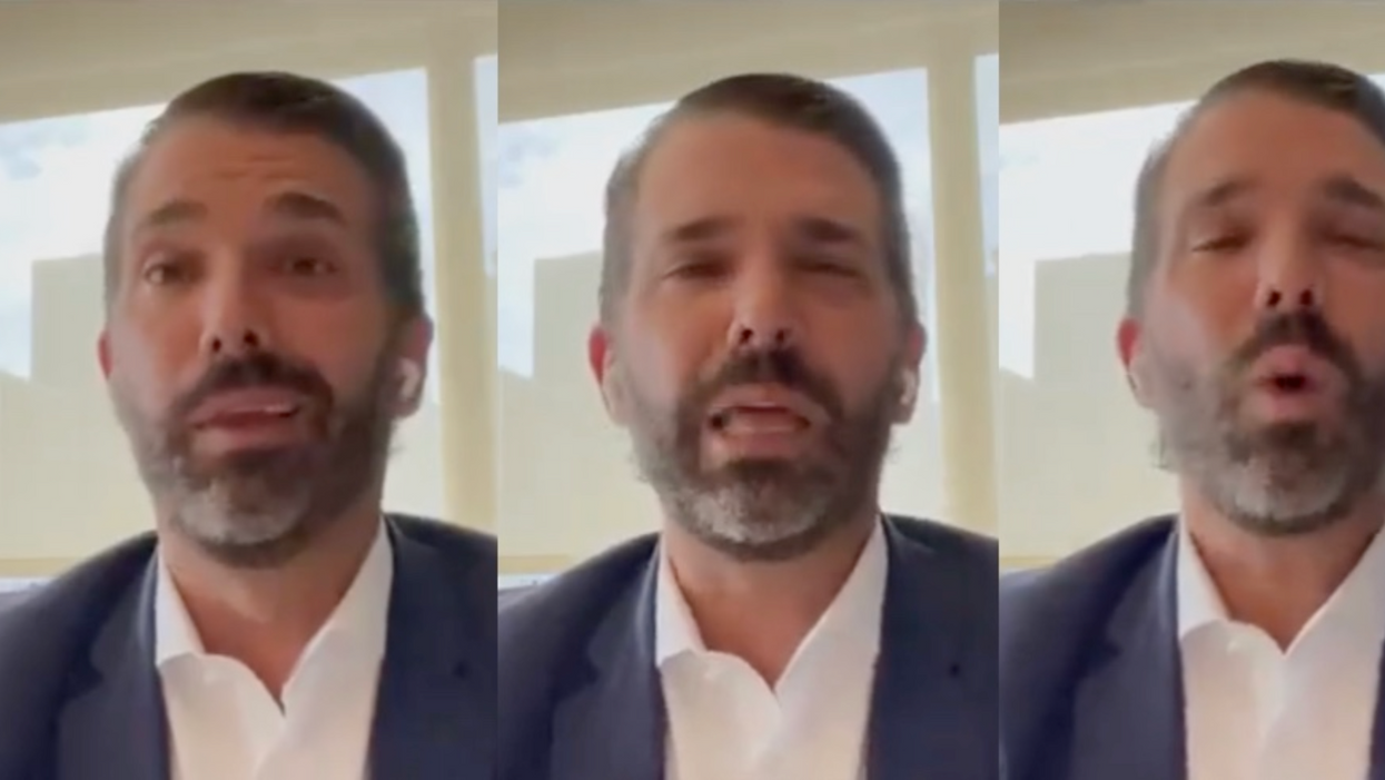 Don Jr. fumes for 13 minutes after the Trump Organization is indicted: 'This is what Russia does'