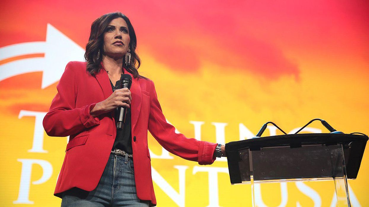 California Democrat urges Kristi Noem to use South Dakota National Guard to combat far-right extremists