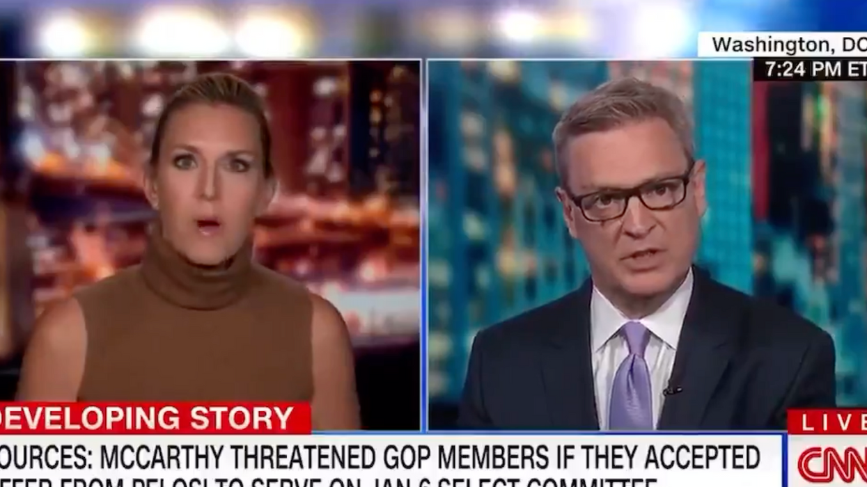 'What?!': Kevin McCarthy aide stuns a CNN host with his excuse for not wanting to investigate Jan. 6