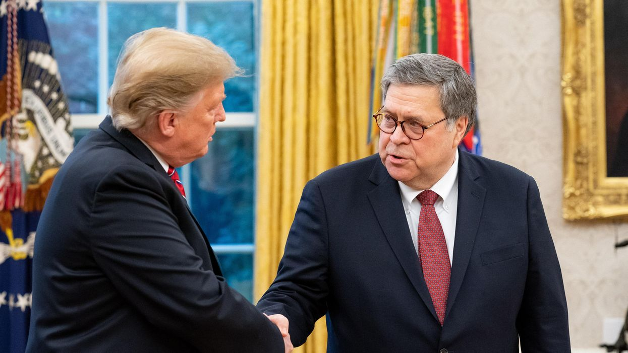 'You must hate Trump': Bill Barr breaks his silence about the 2020 election