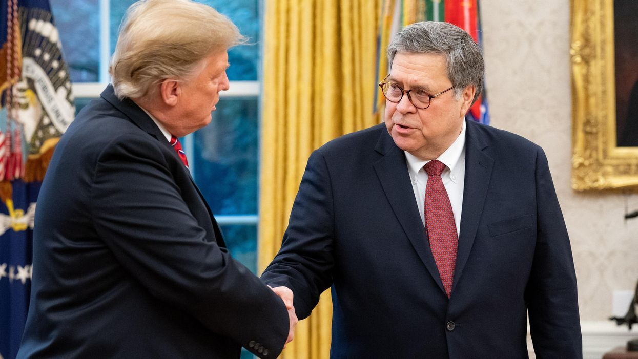 How Bill Barr's 'clean-up exercise' to save his reputation reveals he's far more corrupt than anyone realized: columnist