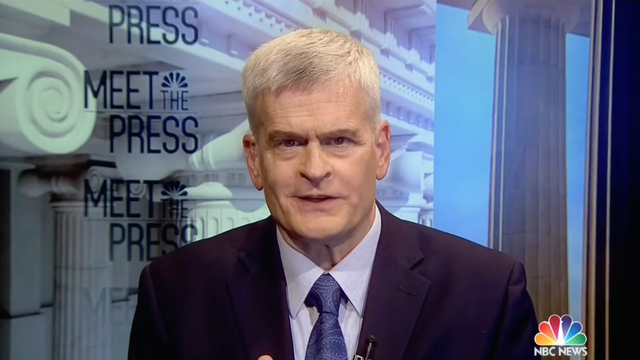Watch Sen. Bill Cassidy's bizarre explanation for why 'roads and bridges are a woman's problem'